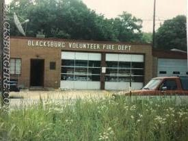 """THE OLD ROCK"" WHICH HOUSED ENGINE 91 AND ENGINE 92 THE FOUNDATION OF OUR DEPARTMENT"